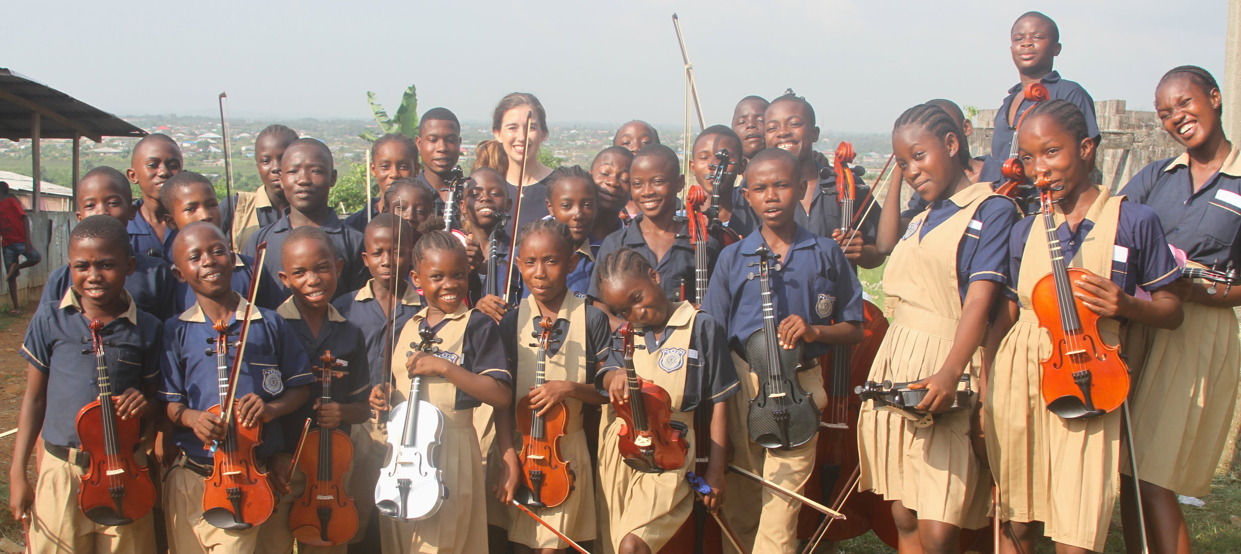 Transforming Liberia through string music education