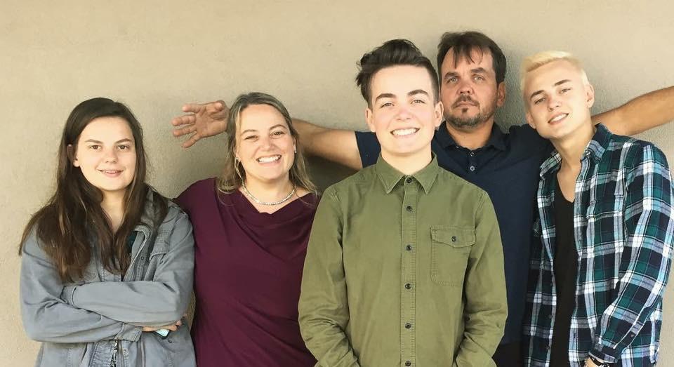 Mrs. Hope Klemm Novak and her family