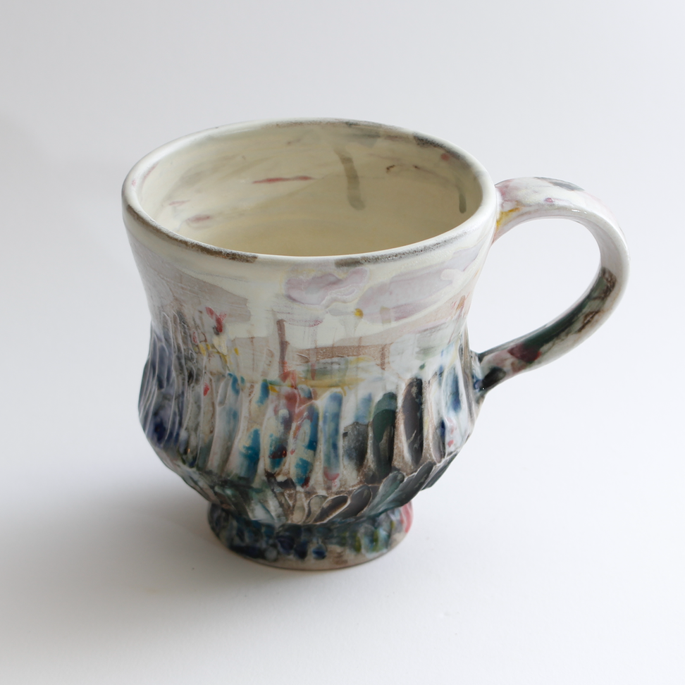 Ren Studio,  Cup  , Clay, 2017. @2017 Ren Studio, courtesy Fou Shop