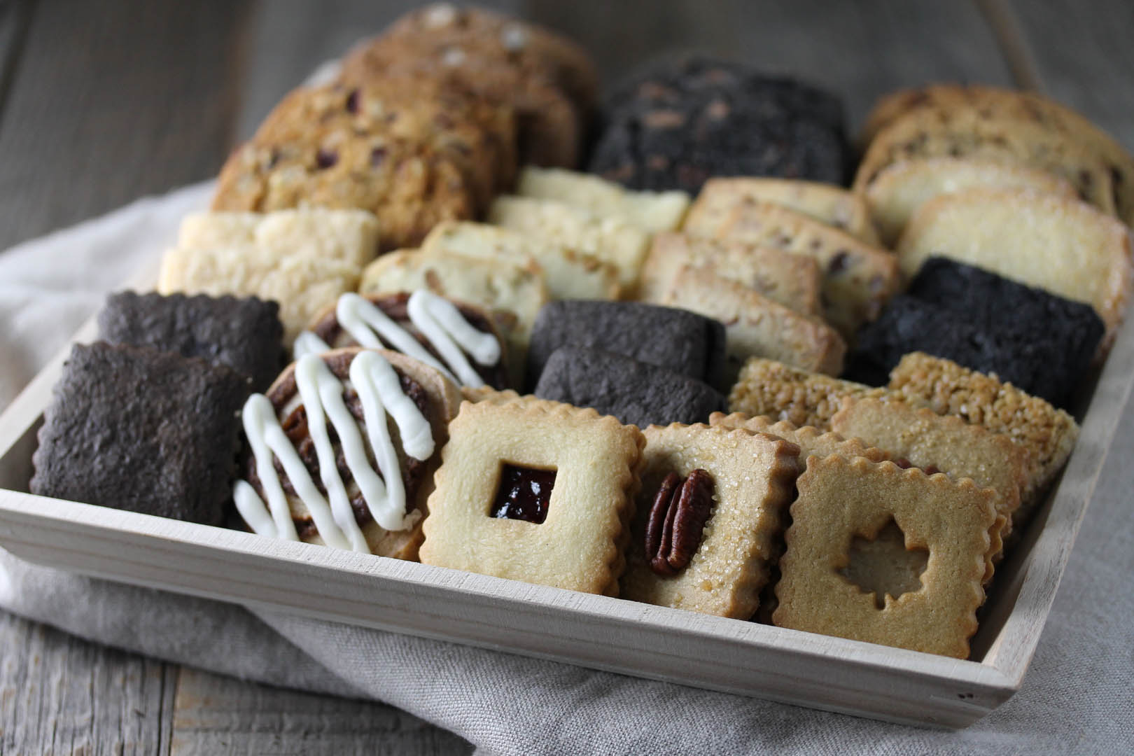 small cookie platter