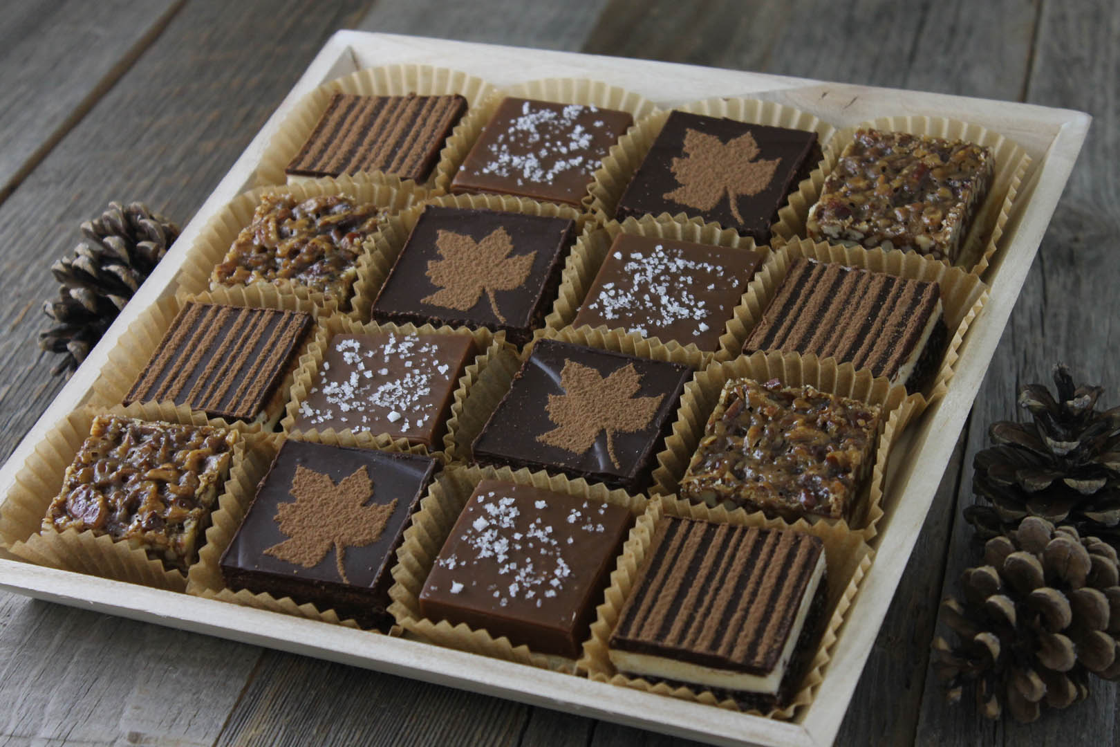 square & bar platter