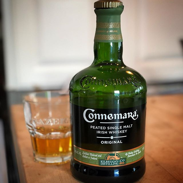 Is it fancy? No idea. Is it tasty? Absolutely. A little Connemara peated whiskey to finish off this St. Patrick's Day. Sláinte! . . . . . . . #connemarawhiskey #irishwhiskey #stpatricksday #whiskey #peatedwhiskey #cheers #sláinte