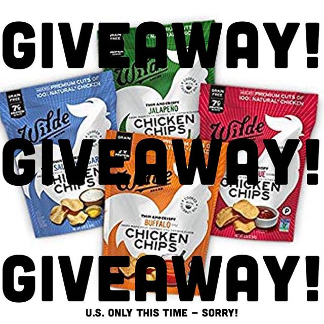 That's right, time for another giveaway! (U.S. only this time, sorry!) The good folks at @wildechips have offered up for 3 lucky winners a variety 4-pack of their tasty chicken chips - you know, the ones actually made outta chicken? Ok, here are the rules: - Like this post (natch) - Follow In The Chips with Barry (if you don't already) - Comment below and tag ONE friend who you'd share the chicken chips with! . Only one comment per person will count as an entry. . Winner will be chosen at random. If not claimed within 5 days, another winner will be selected. . Giveaway closes Thursday, June 13th at 9pm PST. . This giveaway is in no way affiliated with or sponsored by Instagram. . Ok, that's it! Let's gooooo! . . . . . #wildechips #chicken #chickenchips #inthechips #inthechipswithbarry #chipster #chips #chipsgiveway #giveawaytime