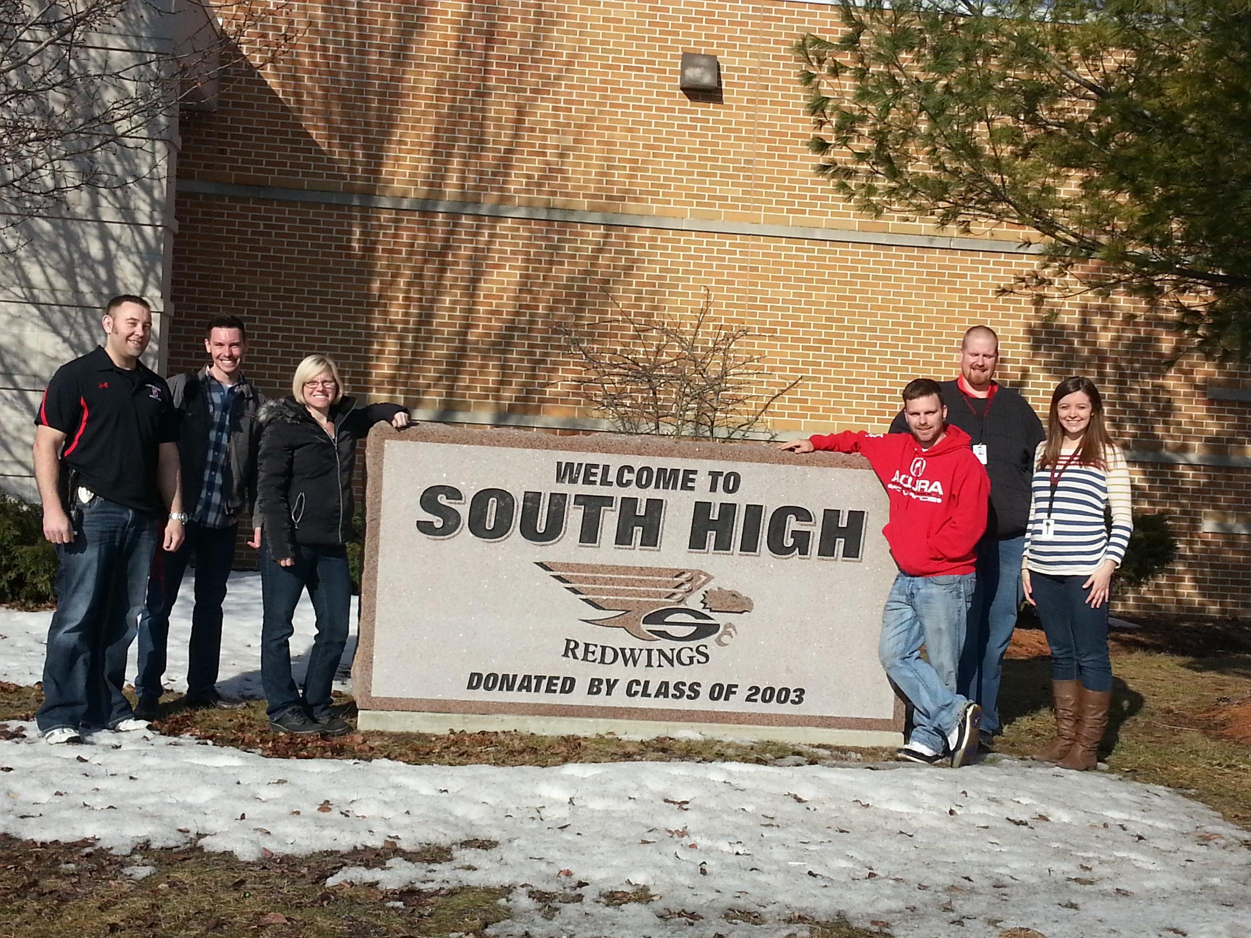 Sheboygan South High School 3/21/14