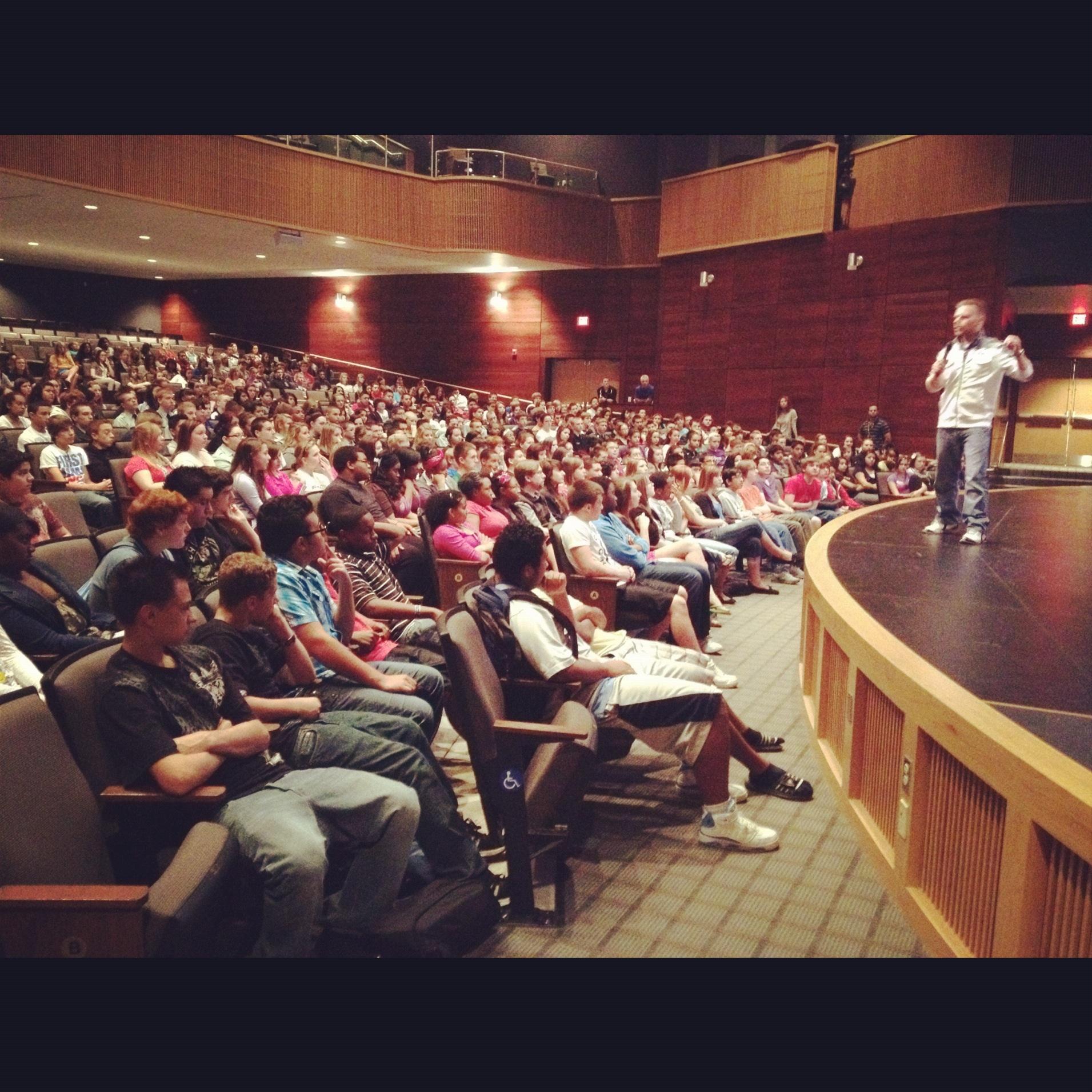 Indian Trail High School -1/16/14