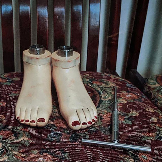 How my feet feel today... #marikatayama #ihavechildsfeet