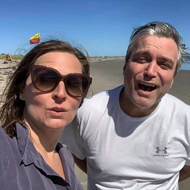 Glorious beach day with my dear @russellandrew79 #birthdayboy