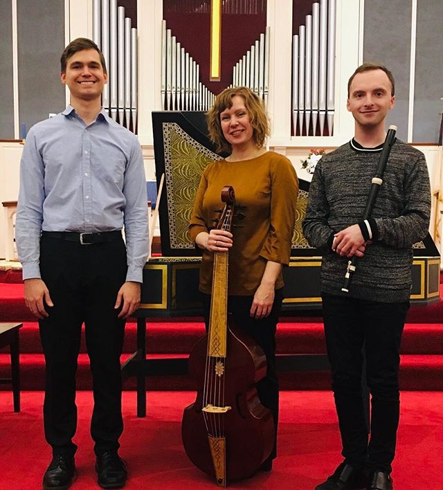 Thank you to our fantastic and enthusiastic audience! We loved playing our J.S. Bach & Sons program for you. See you again soon 🎶 #baroquemusic #harpsichord #violadagamba #baroqueflute #traverso