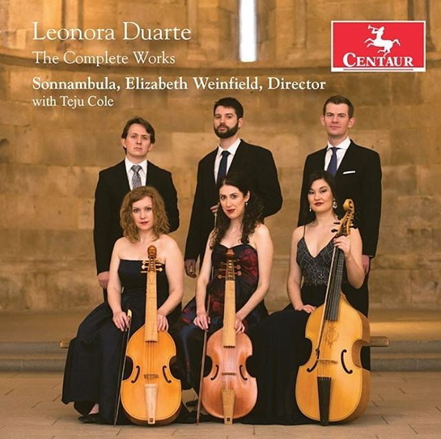 Our @sonnambulaviols debut CD is out today on @centaurrecords. This is the first recording of the complete works of 17th century composer Leonora Duarte, with commentary by @_tejucole. We are excited to share this with the world! Order link in bio. #violadagamba #femalecomposers #baroquemusic