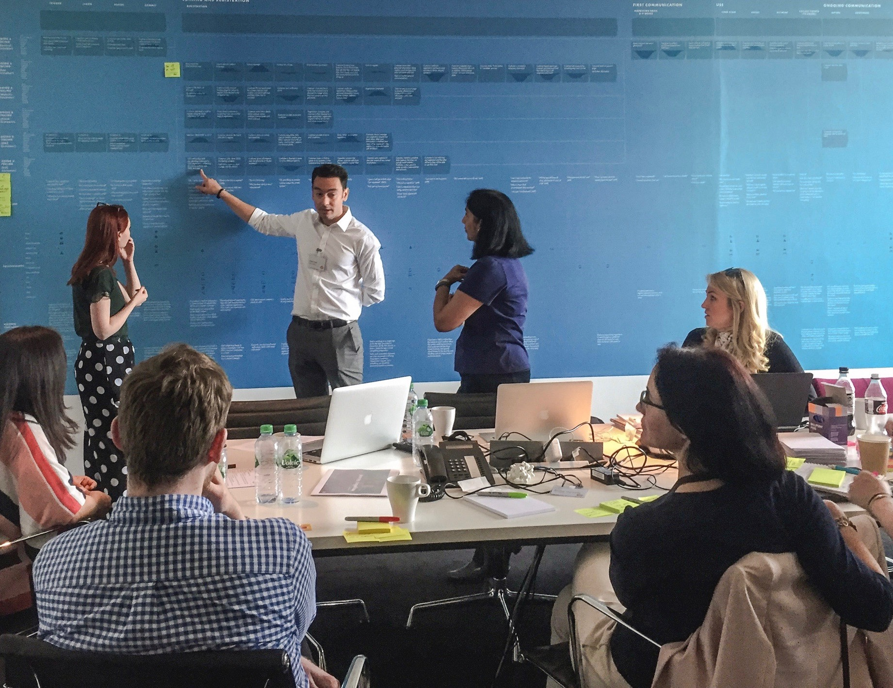 We conducted a series of workshops that explored the findings, insights, and principles of the experience. To provoke conversation we mapped every moment in the journey from beginning to end.