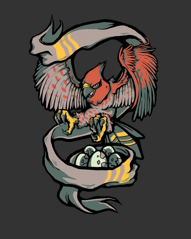 Flame Body  - T-shirt Design
