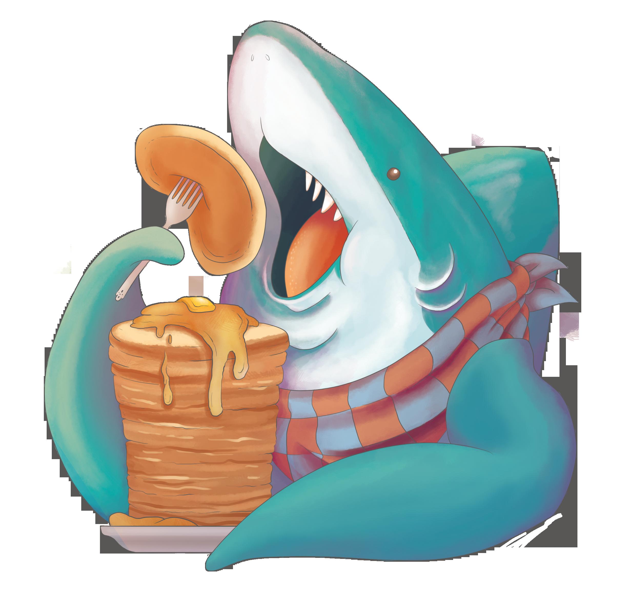 Stack Shark Illustration