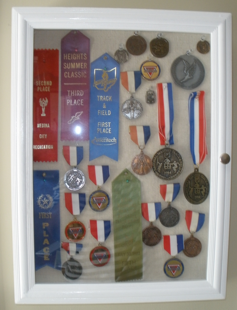 A sampling of my track and field awards