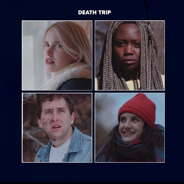 """🙏PLEASE - vote for """"Death Trip"""" for BEST LOCAL FILM in the Cult MTL Best Of (it's on the 4th page) !  Also don't forget """"James Watts"""" for BEST FILMMAKER & Kelly Kay/ Tatyana Olal / Garrett Johnson/ Melina Maria Trimarchi for BEST ACTOR  You have to vote for at least 25 things for your ballet to count so vote for some more stuff while you're at it !  http://cultmtl.com/votebestofmtl/"""