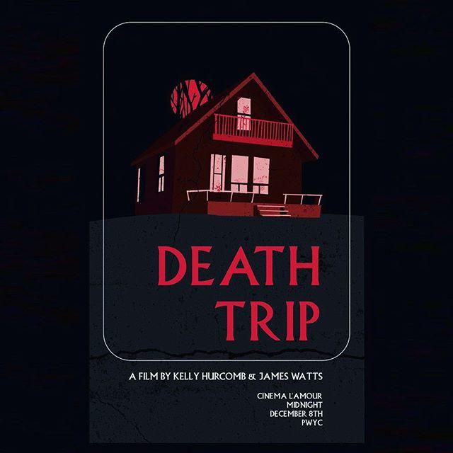 BEAUTIFUL WORK by @arianasauder  DEATH TRIP! *LINK TO EVENT IN BIO* (Dec 8 @ Cinema L'Amour) #acting #horrormovies #folk #montreal #thegame #indiefilm #ohnohedidnt #canadafilm #ontario #quebec #deathtrip #behindthescenes #indie #helpme #sotired #wintersucks
