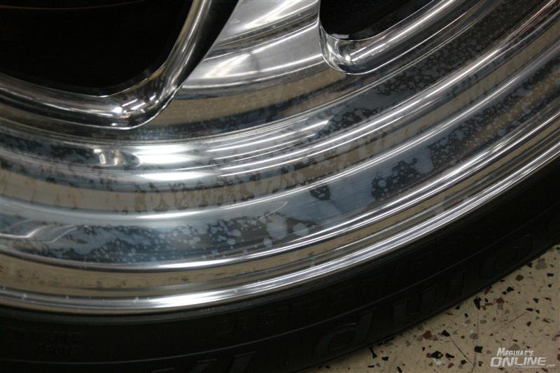 Acid Damaged Wheel (Image Source: Meguiars Online)