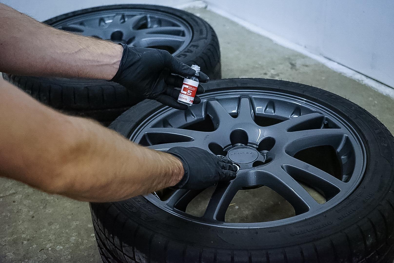 Alloy Wheel Ceramic Coating