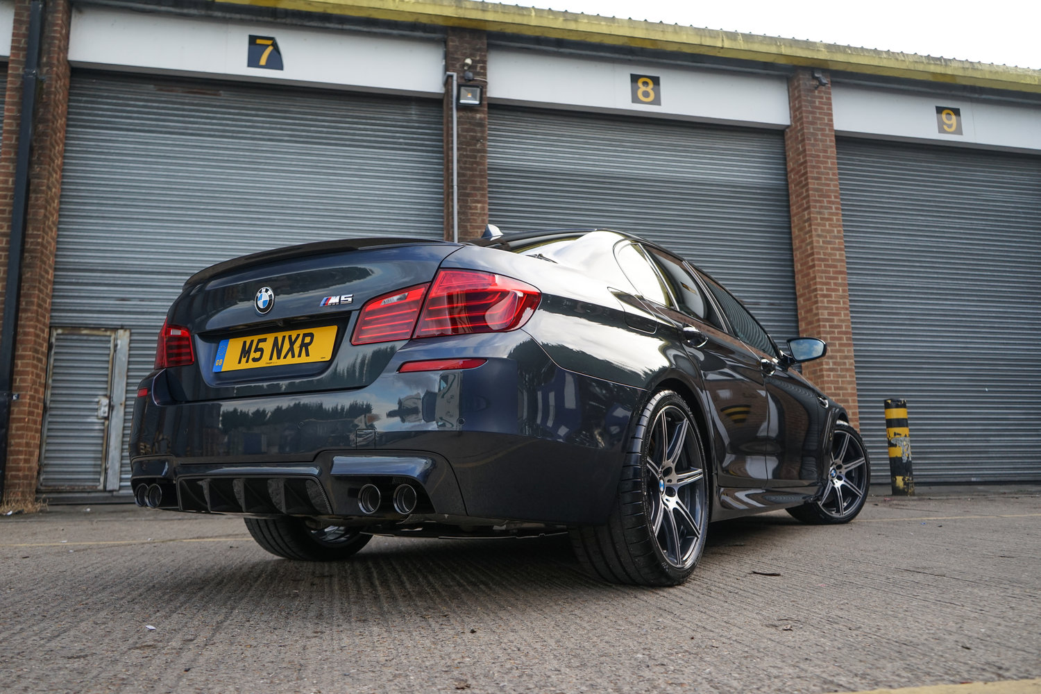 The Finished Article, This Brand New M5 recent received my New Car Protection Package, For an insight into what it received click  here  to read the article.