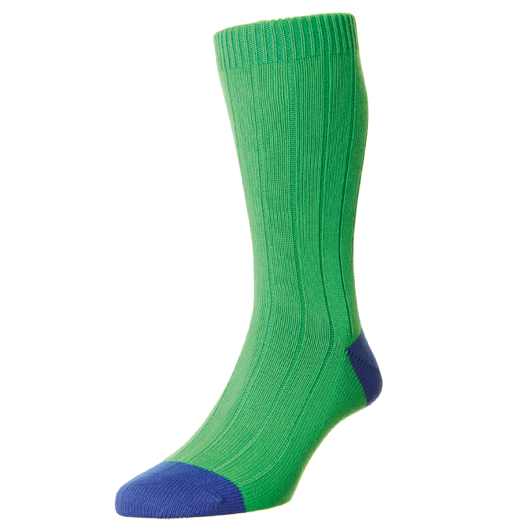 LAUNCHING OCTOBER 2016  RUG-EMR-PLN - Rugby Emerald Chunky Cotton Sock  RRP £TBC  SIZES:Medium (6 - 9 UK), Large (9.5 - 12 UK)  OUT OF STOCK