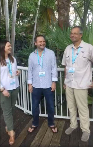 From the BTT sixth International Science Symposium: Dr. Andy Danylchuk and Dr. Steve Cooke talk about the state of catch & release research for bonefish, tarpon, and permit with Sascha Clark Danylchuk of   Keepemwet Fishing. Watch the video here.