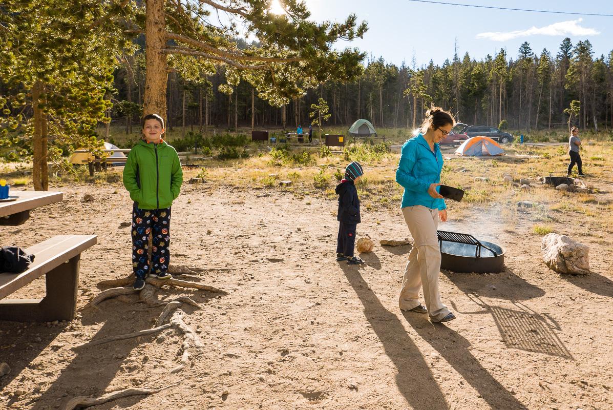 Vie de camping.