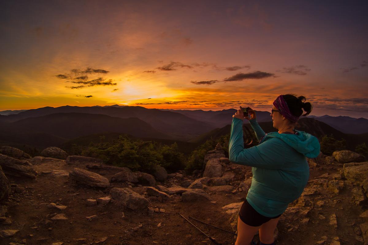 Lever de soleil sur Liberty Mountain <3