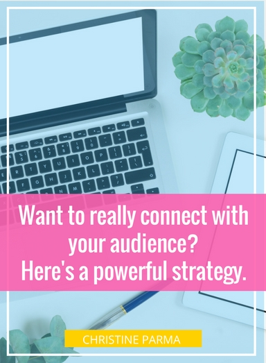 In a noisy and crowded world, how do you stand out and connect with those who want and even need what you're offering? The answer is surprisingly simple.http://christineparma.com/blog/connect-with-your-target-market