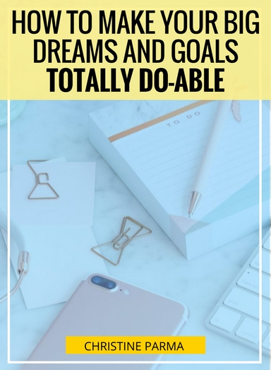 You're overflowing with big dreams and ideas for your business (and life)... and that can get in the way of your success. Here's the problem: Too often the most amazing, brilliant, I'm-making-a-real difference-in-the-world entrepreneurs struggle in their businesses because they're pursuing  too many dreams and goals at the same time .  In this article I share the simple steps to knowing which of your dreams and goals you should act on right now.http://christineparma.com/blog/big-goals