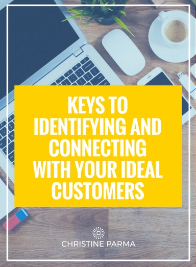 """If you can't """"get inside your customer's head"""", your emails, marketing messages and programs won't connect at all or not at a deep enough level to keep your customers coming back again and again. You'll end up wasting your time and money targeting clients who don't have the problem you can solve and won't buy what you're offering.  You must figuratively turn yourself into your customer and create your messages and learning curriculum from that space. Dive deep into your customers' minds, their emotions, their motivations, their lifestyles in order to understand them, create products and programs that serve them and connect with them so intimately that they think, """"How did she know how I feel? She gets me! And she may just have the solution I'm looking for."""" Using this strategy is also how you turn average customers into Raving Fans who happily buy practically everything you offer.  I've outlined below 3 Critical Keys to Identifying and Connecting with Your Ideal Customers, each with a series of questions to help you dig deeper and discover exactly who your Ideal Customer is.   http://christineparma.com/blog/3-critical-keys-to-identifying-and-connecting-with-your-ideal-customers   #entrepreneur #business #marketing #customers #sales #leads #smallbusiness"""