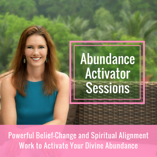 Align with Your Divine Abundance    POWERFUL INNER & SPIRITUAL TRANSFORMATION FOR LASTING ABUNDANCE ACTIVATION   You're a spiritual explorer and know in your heart that you are the creator of your life.And you're committed to creating an abundance of love, money, meaning and freedom in your life while doing it.  You've taken courses on how to manifest your dreams, created vision boards and repeated affirmations until you felt silly, but you still haven't been able to bring into reality what you really want. You feel like your journey to creating the kind of abundance, joy and freedom you desire has been one step forward, two steps back… and you're so tired of it!  Ready to clear the path to what you want and align with it NOW... all with joy, fun and ease?  Click here now.