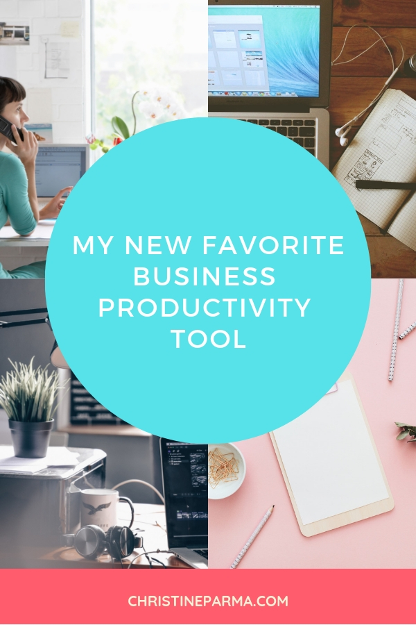 Ever feel like your online business is out of control? I did, too. And then I found this client management and business management tool that organized my business and sent my productivity through the roof! Read on to find out why this tool is now my #1! #christineparma #onlinebusiness #businesstips #productivity #smallbusiness #smallbusinesstips
