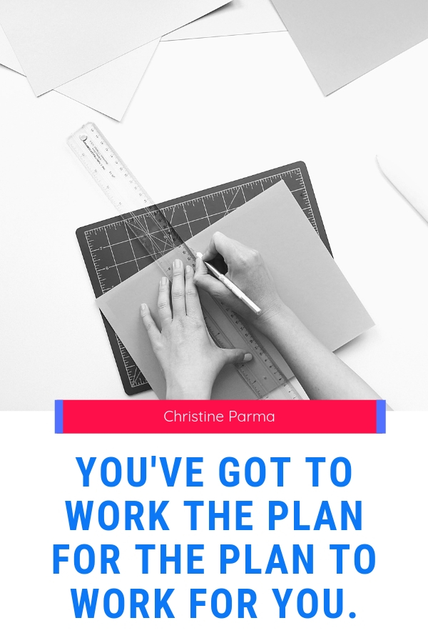 You've got to work the plan for the plan to work for you. Remember, it's not just any 'ol plan… #businesstips #onlinebusiness #goalsetting #businessplan