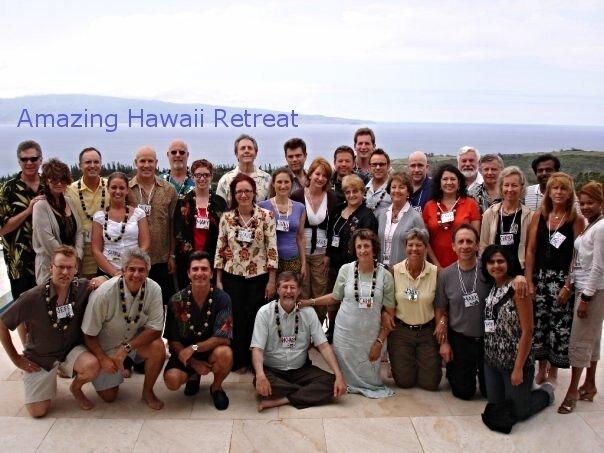 One of the amazing Maui retreats I managed for T. Harv Eker.
