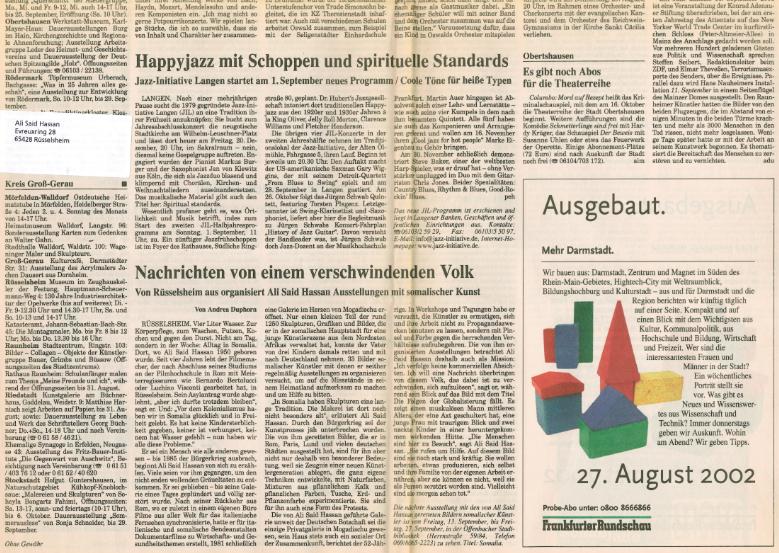 Russelsheim 2002 (Germany) Ali Said Hassan Aqri waxa ay Jormaalada Jarmalku Bandhigaas ka qoreen Part 2