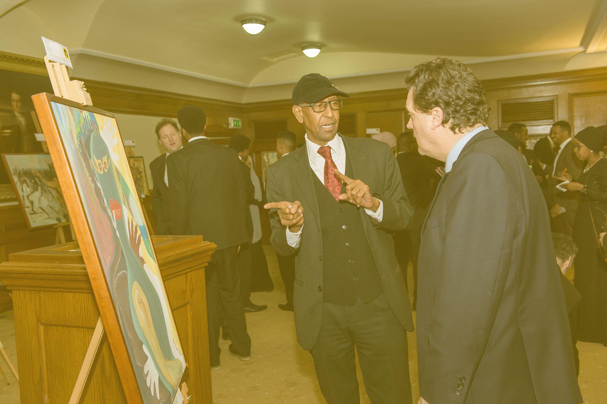 Golol Art Gallery exhibition at Church House London
