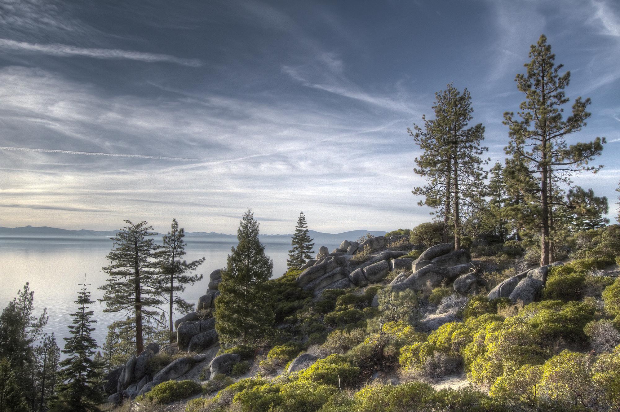 Chimney Beach Trail, Lake Tahoe (2011)