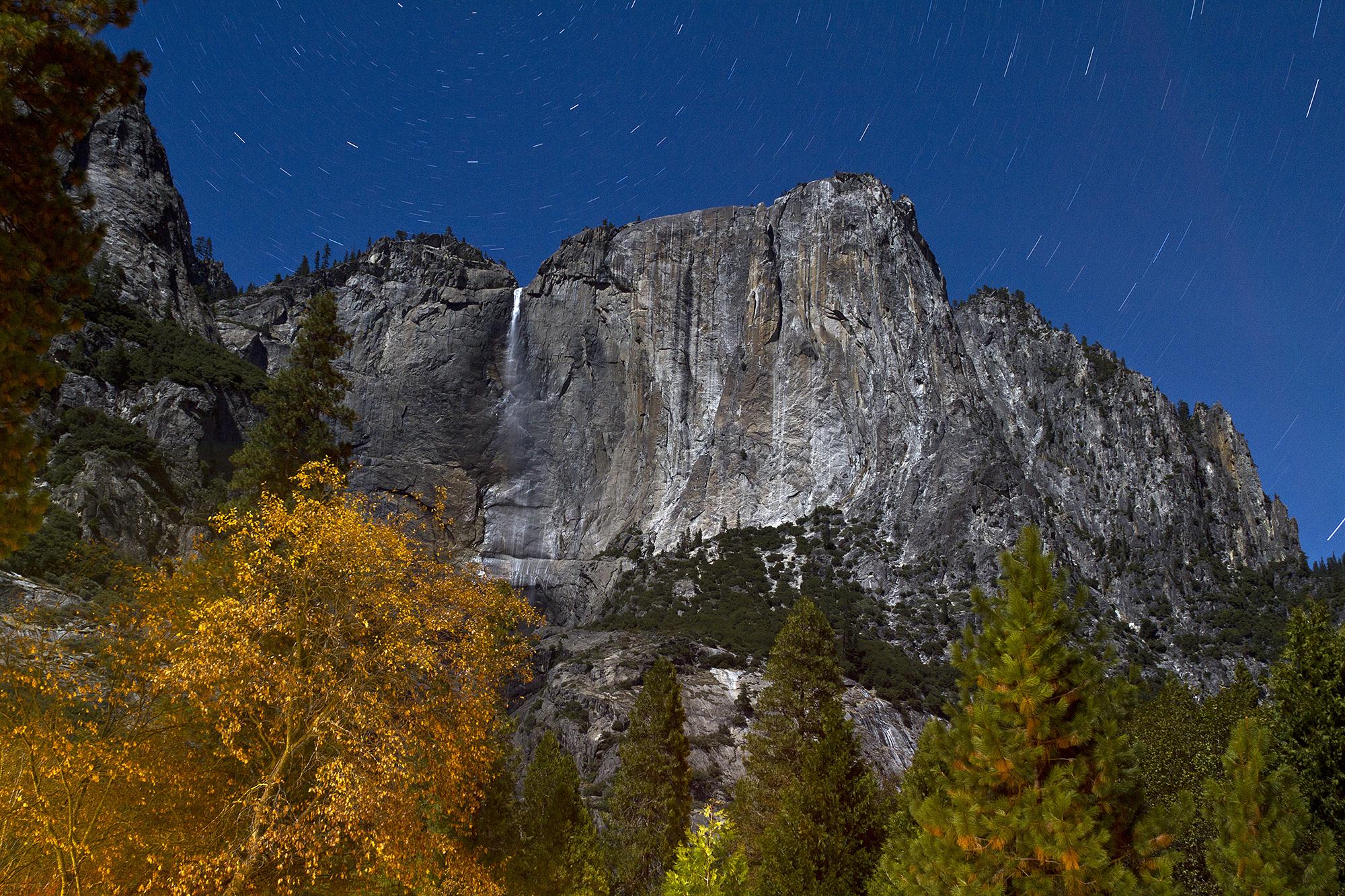 Yosemite Falls at Night, 10 Minute Exposure (2012)