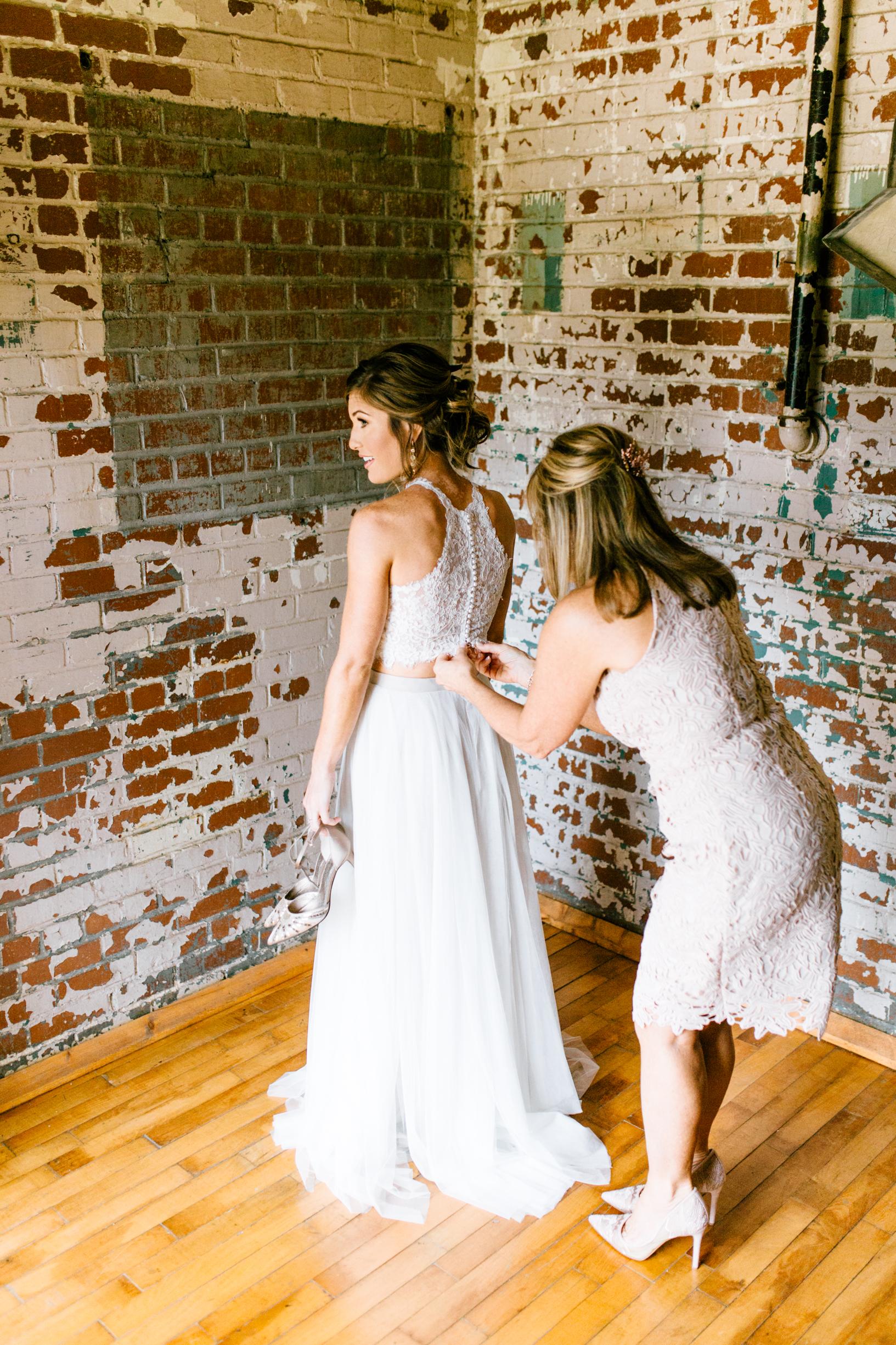 the engine room wedding