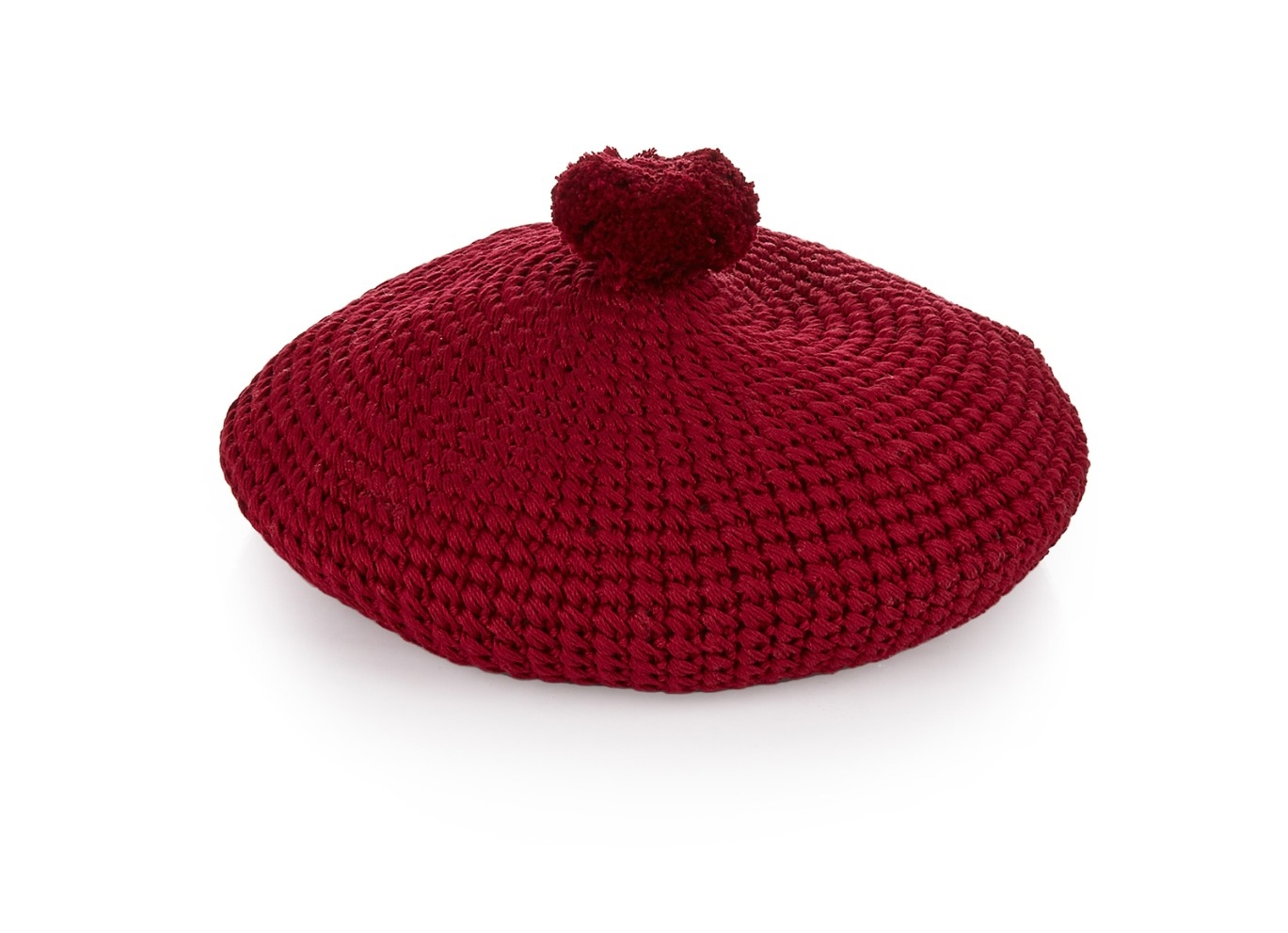 Gucci Pompom knitted beret, £205, Matches Fashion