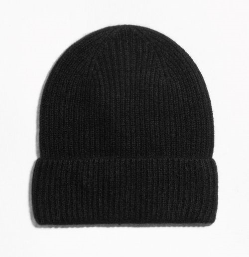 Cashmere beanie, £33, &other stories
