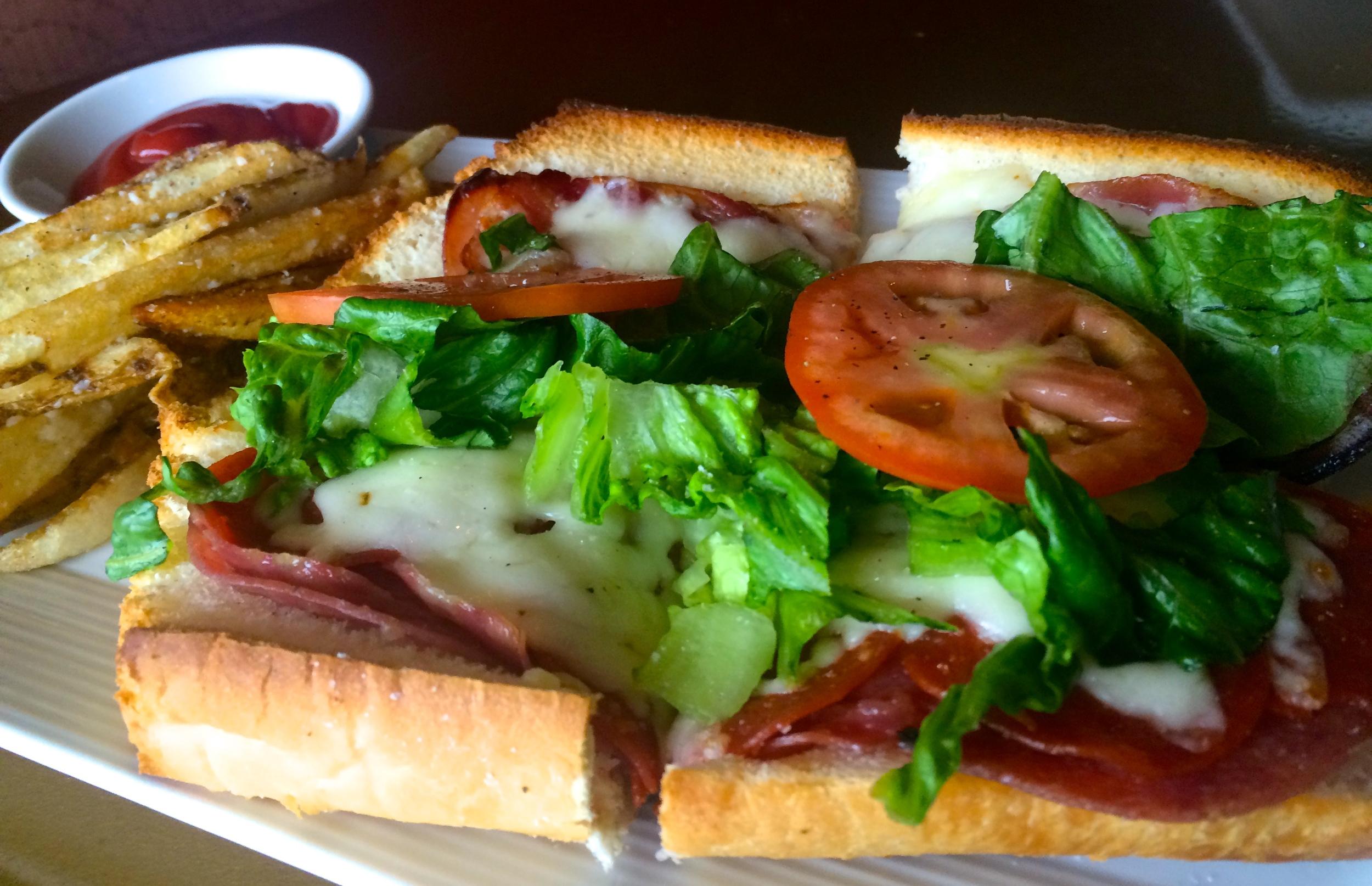 Italian Godfather Sandwich