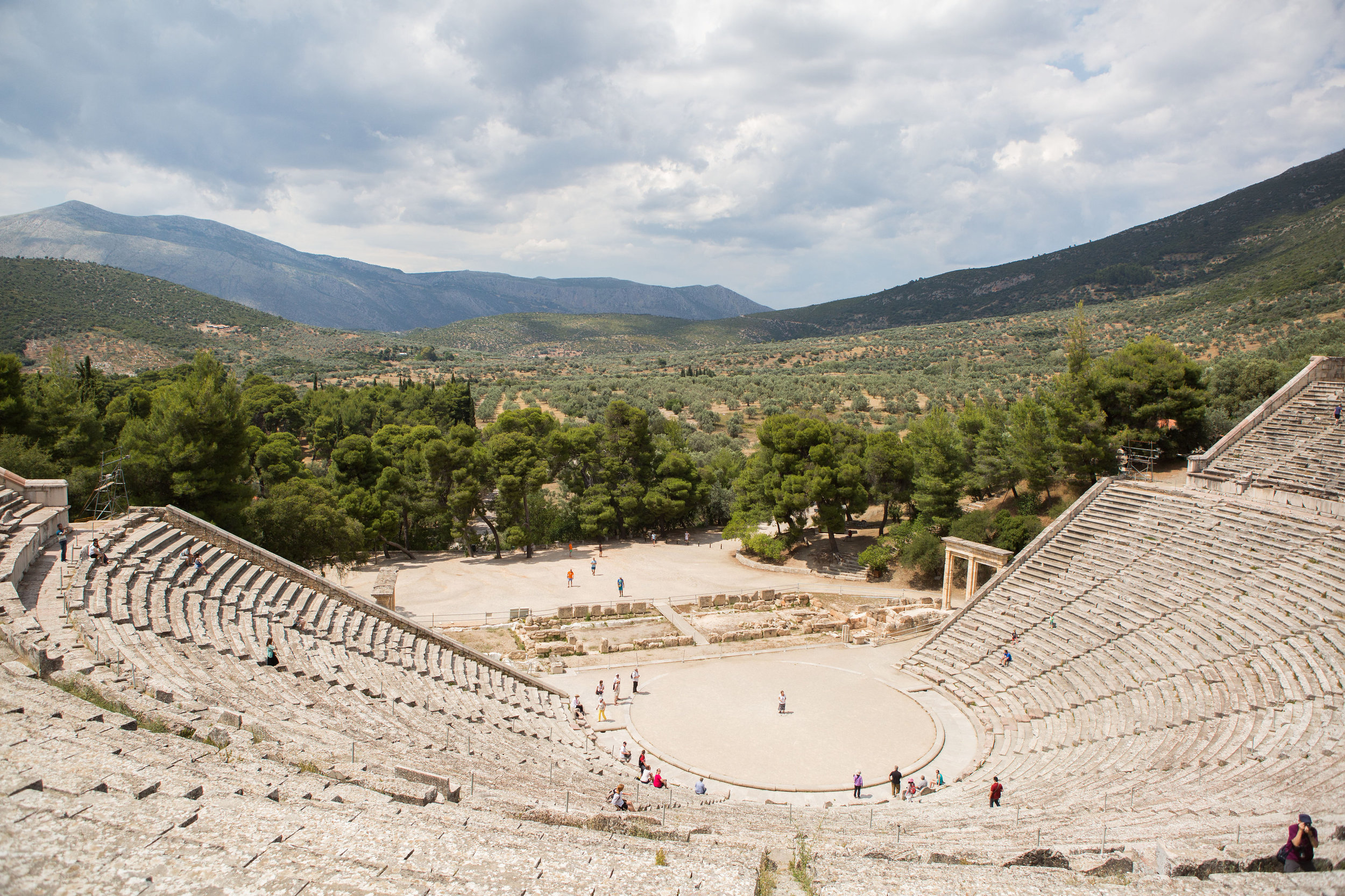 The Theater of Epidavros