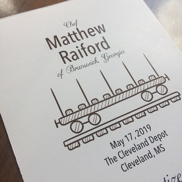 Sneak Peek at the menu for Friday's Dinner with Matthew Raiford!  Get your bellies ready - you won't want to miss a single bite!