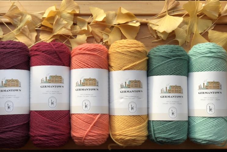 Germantown 100/% Wool Yarn Made in the USA