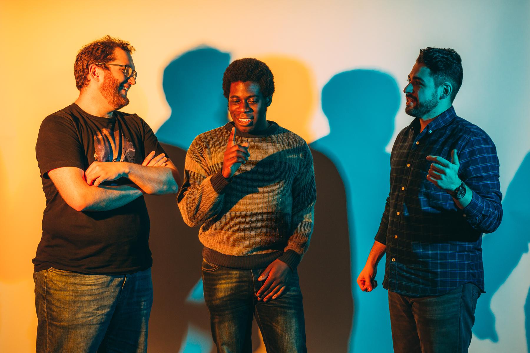 Photos by Michael Salisbury •Glenn Curran, Nnamdi Ogbonnaya and Steve Daoud