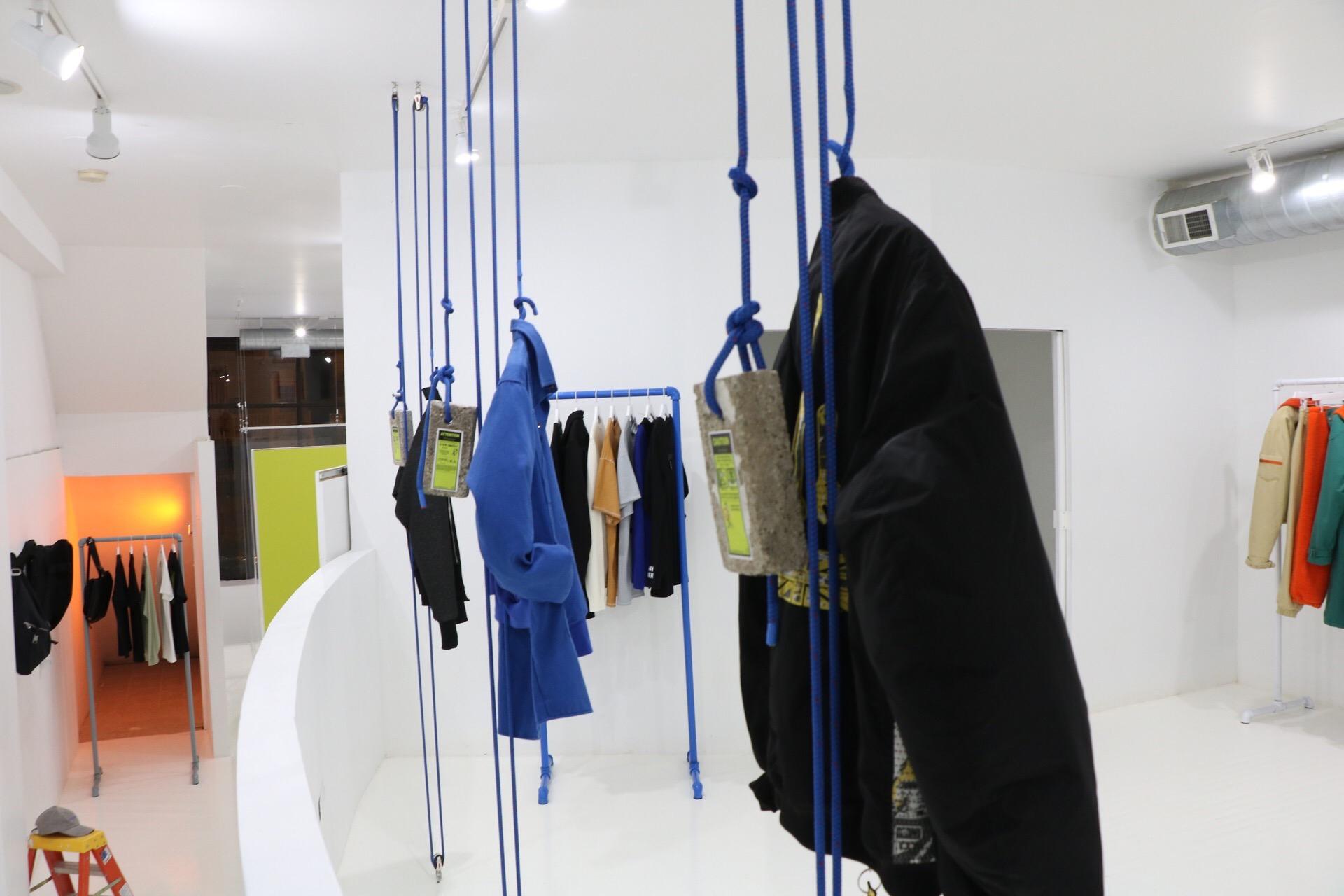 An interactive rêtail installation.
