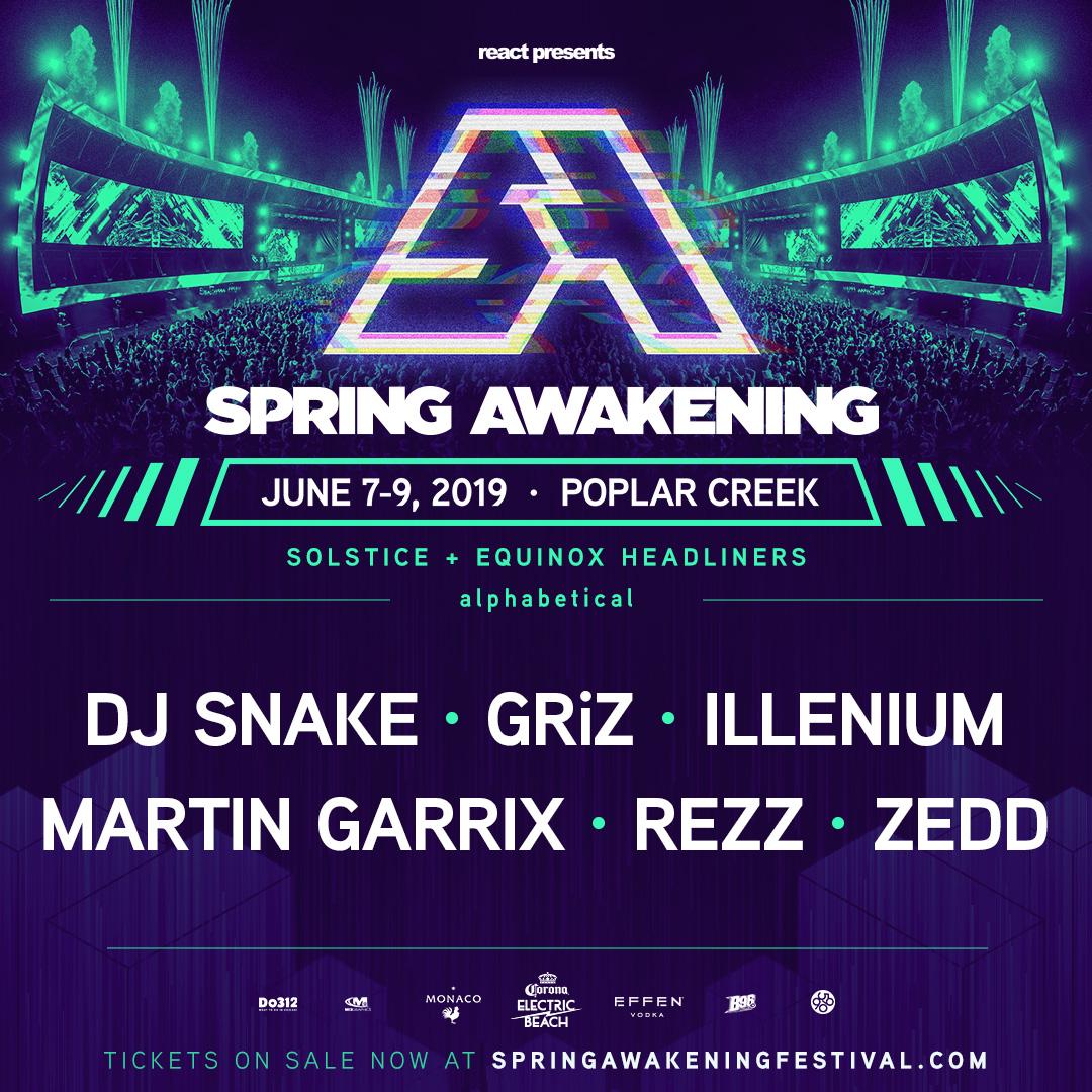 Spring Awakening Music Festival Announces 2019 Headliners DJ Snake