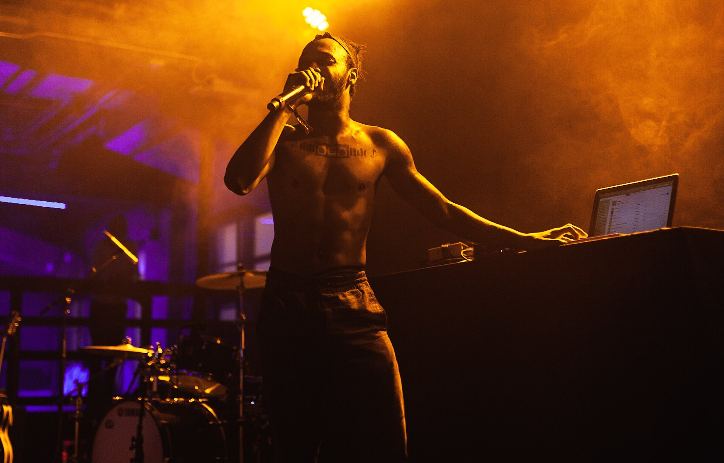 JPEGMAFIA at House of Vans in 2018 (Photo by Julien Carr for These Days)
