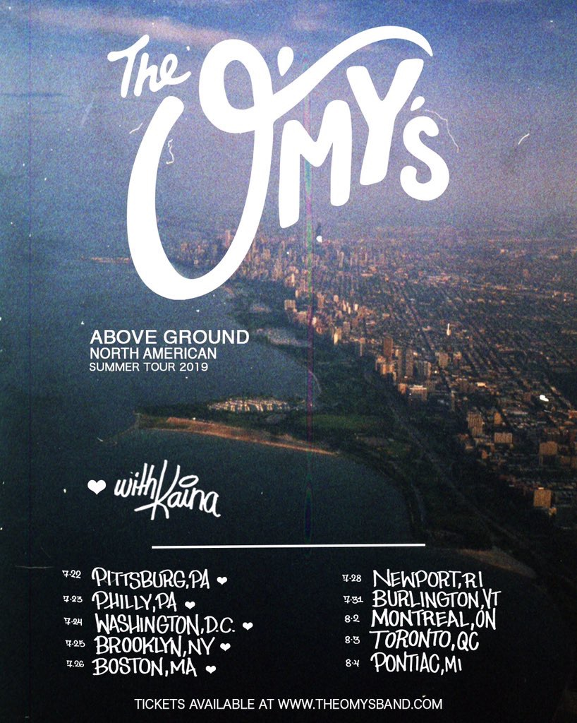 Flyer provided by The O'My's