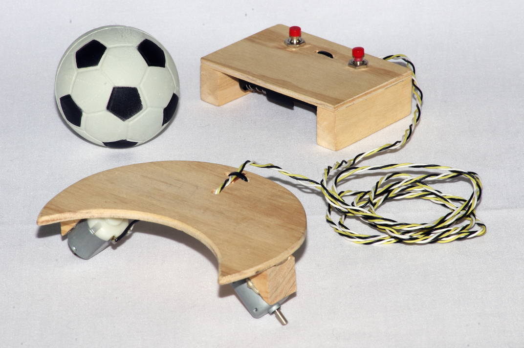 soccerbot basic soccer playing model